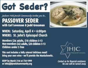 Annual Passover Seder @ St. John's Episcopal Church | Jackson | Wyoming | United States