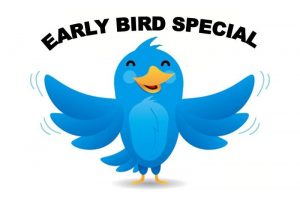 Deadline for Summer Camp Early Bird Discount