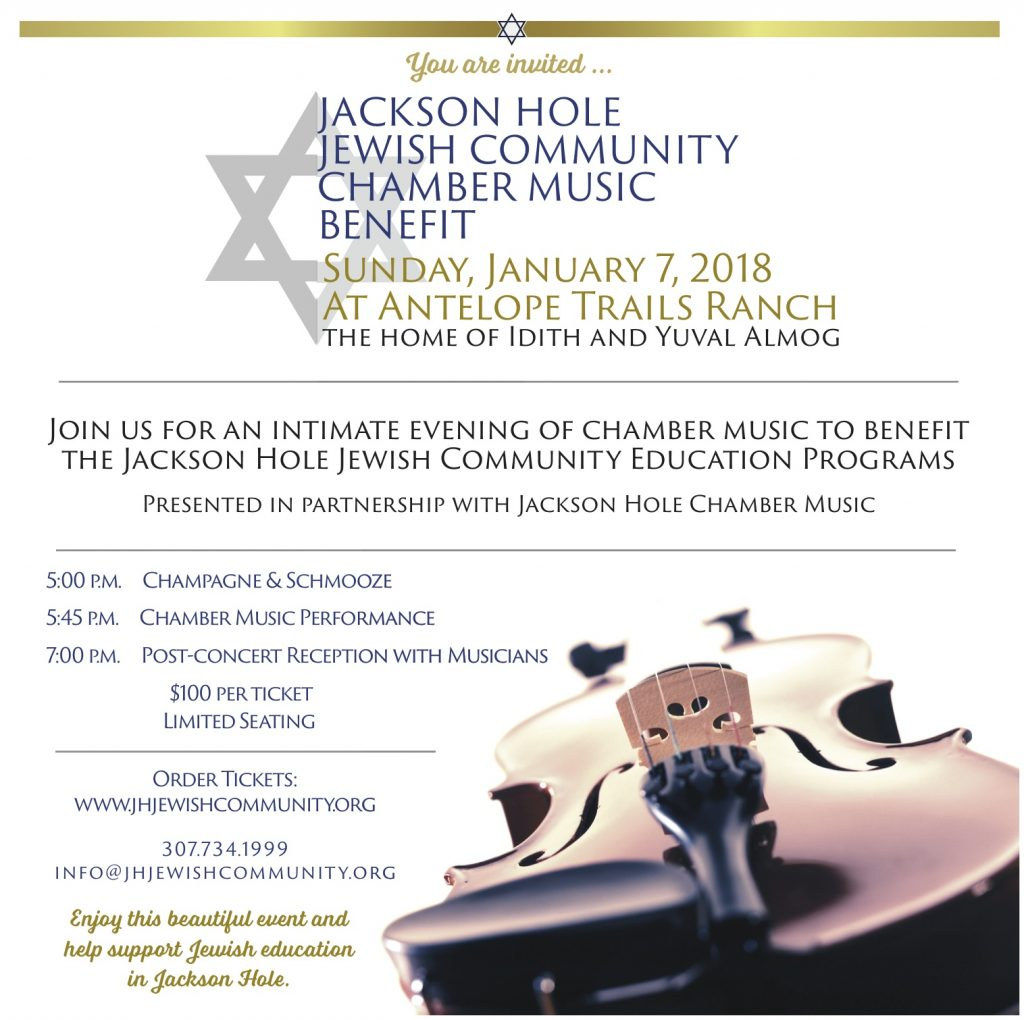 2018 JHJC Chamber Music Benefit @ Antelope Trails Ranch