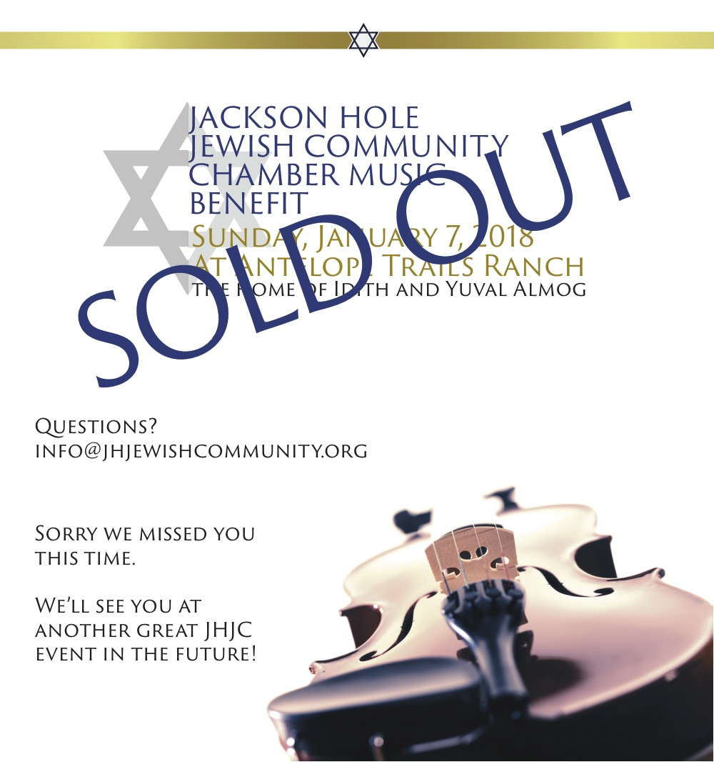 SOLD OUT: 2018 JHJC Chamber Music Benefit @ Antelope Trails Ranch