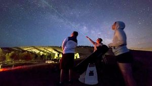 Stargazing Shabbat with Dr. Samuel Singer @ Journeys School | Jackson | Wyoming | United States