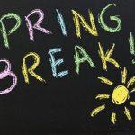Spring Break 3/28-4/11